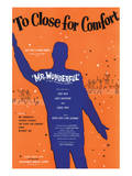 Song Sheet Cover: Too Close For Comfort, Mr Wonderful Art