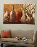 Botanical Vessels Poster af Kristy Goggio