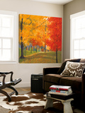 Bright Autumn Day II Art by Lynn Krause