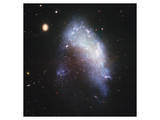 NASA - NGC 1427A Galaxy Art
