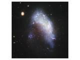 NASA - NGC 1427A Galaxy Art