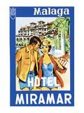 Hotel Miramar Print