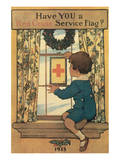 Have You A Red Cross Service Flag Posters by Lawrence Beall Smith
