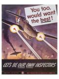 Let's Be Our Own Inspectors Juliste tekijänä J. Howard Miller
