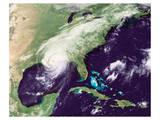 NASA - Hurricane Katrina Print