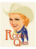 Rodeo Queen Prints by Richard Weiss