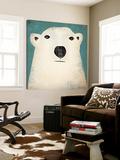 Polar Bear Kunstdruck von Ryan Fowler