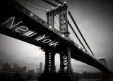 Blonde Attitude - New York Köprüsü - Poster