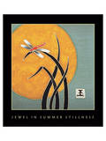 Jewel In Summer Stillness 1 Prints by Sybil Shane