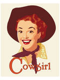 Cowgirl Print by Richard Weiss