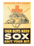 Our Boys Need Sox Posters