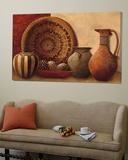 Basket and Vessels Poster von Kristy Goggio