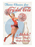 Crystal Cola Posters