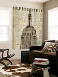 Vintage NY Empire State Building Plakat av Michael Mullan