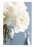 White Roses Bouquet Posters by Christine Zalewski