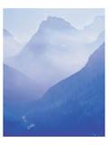 Glacier Smoky Mountain Affiches par Danny Burk