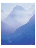 Glacier Smoky Mountain Prints by Danny Burk