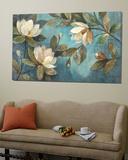 Floating Magnolias Poster von Albena Hristova