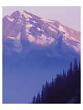 Glacier Heavens Peak Poster by Danny Burk