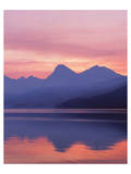 Glacier Apgar Sunrise 1 Prints by Danny Burk