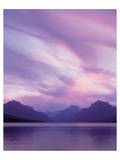 Glacier Apgar Sunset Poster af Danny Burk