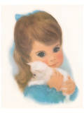 Gerber, Kitty Girl Poster