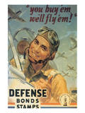 You Buy'em We'll Fly'em! Poster by H.H. Wilkinsons