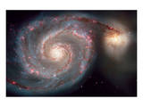 NASA, Whirlpool Galaxy Poster