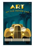 Michael Crampton - Art of the Motor Car II - Reprodüksiyon