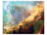 NASA - Perfect Storm Swan Nebula M17 Print