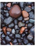 Beaver Bay Rocks I Poster by Danny Burk