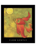 Flow Gently 1 Poster by Sybil Shane