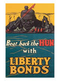 Beat Back The Hun Posters by Fred Strothman