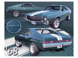 1968 AMX Art