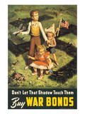 Don't Let That Shadow Touch Them Print by Lawrence Beale Smith