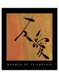 Warmth Of Friendship 1 Posters by Sybil Shane
