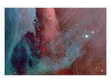 NASA - Ghostly Nebulae Art