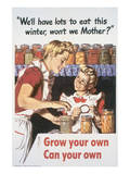 Grow Your Own Can Your Own Posters by Al Parker