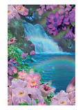 Oahu Waterfall Day Prints by Alixandra Mullins