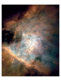 NASA - Center of the Orion Nebula Print