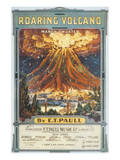 Song Sheet Cover: Roaring Volcano March Two Step Posters