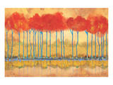 Amber Afternooon Riverbank Prints by Toy Jones
