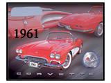 1961 Corvette Poster