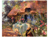 Un Jour en Ete Kunstdrucke von Henri-Gaston Darien