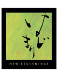 New Beginnings 1 Poster by Sybil Shane