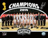 San Antonio Spurs 2014 NBA Champions Team Photo Photo