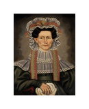 Lady of Squire Williams House, ca. 1829 Giclee Print by Erastus Salisbury Field