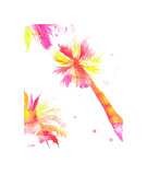It's Always Summer in California Giclee Print by Jessica Durrant