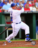 Billy Butler 2014 Action Photo