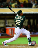 Yoenis Cespedes 2014 Action Photo